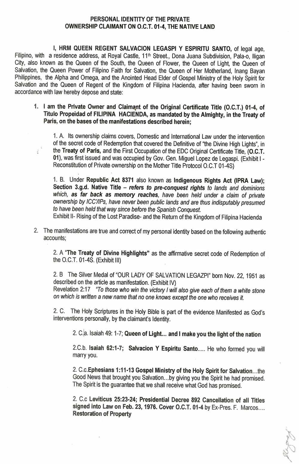 Bonito Formulario De Certificado De Nacimiento De Filipinas Modelo ...